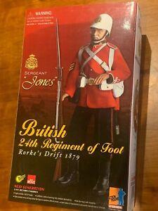 """Dragon Models 12"""" British 24th Regiment Sergeant Jones Rorke's Drift 1879 Mint"""