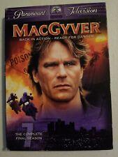 MacGyver - The Complete Final Season (Dvd, 2006, 4-Disc Set)