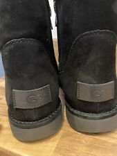 Genuine Abree Black Ugg Boots Size 5.5 Brand New With Box
