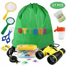 UTTORA Outdoor Explorer Kit Gifts Toys,Kids Binoculars Set,Outdoor Exploration