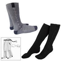 USB Electric Heated Socks Feet Winter Foot Warmer Heating Fever Sock Ice Fishing
