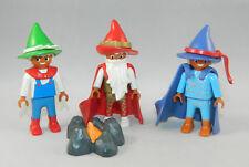 Playmobil Schloss Märchen Magic 3 x Zwerg Wichtel 4056 5142 4250 #40279