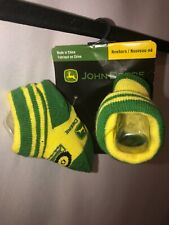John deere Newborn Socks Cotton Tractor Green Yellow