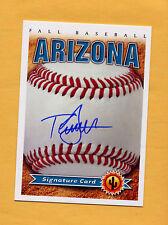 2014 Arizona Fall League AUTO card TAYRON GUERRERO Padres