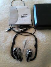 Logitech Premium Notebook Headset PC Travel Storage Case w/ USB AdapterA-0445-A