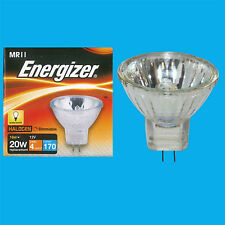 16W (= 20W) MR11 GU4 Eco-Halogen Reflector Spotlight Bulbs, 12V Down Light Lamps