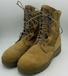 Rocky 798 Army OCP Hot Weather Vibram Soles Coyote Brown Combat Boots 6.5 Wide