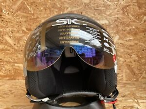 SHARK SK/EASY MOTORCYCLE HELMET - SILVER - XL