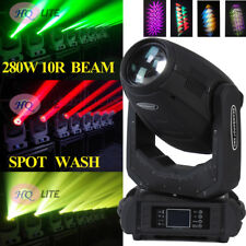 HQLITE 280W 10R 3IN1 ZOOM Spot Beam Wash Moving Heads Stage DJ Disco Party light