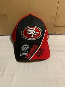 San Francisco 49ers NFL '47 Brand Red Venture MVP One Size Adjustable Hat New