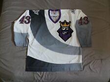 CCM Los Angeles LA Kings BURGER KING Jersey Vitali Yachmenev XL Vintage 90s RARE