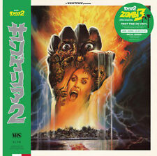 Stefano Mainetti Zombi 3 OST LP Green Vinyl We Release Whatever The F**k We Wan