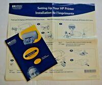 HP DeskJet 610C Series Printer Users Guide Manual Vintage Hewlett Packard