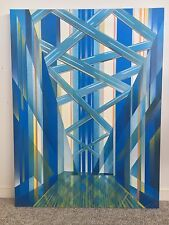 Harbour Bridge Abstract Painting 76cm x 102cm