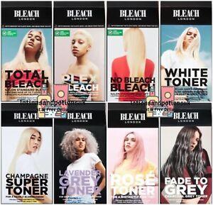 Bleach London Hair Bleach and /Or Toner Kits - Choose from the Menu