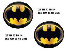 "BATMAN SYMBOL Jumbo 25"" x 25"" inch SuperShape 2X COUNTS Foil Mylar Balloon"