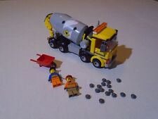 LEGO CITY--CEMENT MIXER TRUCK (LOOK) FROM SET 60018