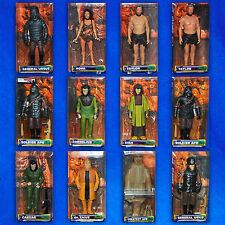 PLANET OF THE APES MIP SET OF 12 MEDICOM ACTION FIGURES NEW FACTORY SEALED