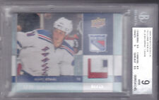 09-10 Upper Deck Marc Staal /15 UD Game Patch BGS 9 Mint 2009