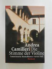 Andrea Camilleri Die Stimme der Violine Montalbanos vierter Fall Roman Krimi