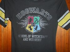HARRY POTTER HOGWARTS SCHOOL OF WITCHCRAFT WIZARDRY Shirt Womens Juniors sz M