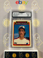 1989 Topps Woolworth's Randy Johnson #13 Rookie - 10 GEM MINT GMA Graded Card