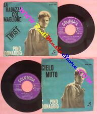 LP 45 7'' PINO DONAGGIO La ragazza col maglione Cielo muti 1962 no no cd mc dvd