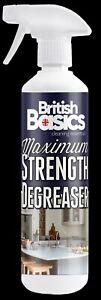 British Basics Maximum Strength Degreaser Kitchen Floors Cupboards Tiles Oil BB