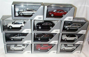 Audi A5 A7 Q5 Q7 Dealer Models 1-43 scale made by Spark & Iscale new