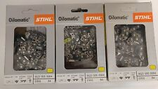 "3pk  25"" STIHL Chainsaw Chain 33 RS 84 3623 005 0084 33RS 84 3/8"" pt 84 Link NEW"
