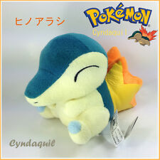 "Cyndaquil Starter Pokemon Fire Mouse Plush Toy Soft Stuffed Animal Figure New 5"""