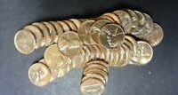 1962-D BU LINCOLN CENT PENNY ROLL - GEM RED