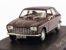 Peugeot 204 Coupe 1967 Maroon 1:43 NOREV 472403