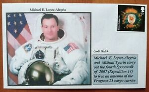 ISS EXPEDITION 14 MICHAEL E LOPEZ 14 FDC Space Cover