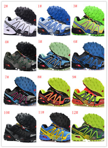 New Men's Salomon SpeedCross 3 CS running shoes outdoor off-road Athletic Shoes
