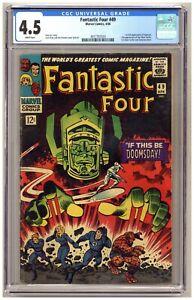 Fantastic Four 49 (CGC 4.5) 1st full app. Galactus; 2nd app. Silver Surfer B958