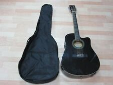 Axman Elektroakustische Westerngitarre 67280, ca. 106 cm   + Tasche   5T5598
