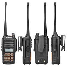 8W Baofeng UV-9R Doble Banda Radio Bidireccional IP67 Impermeable Walkie Talkie