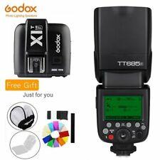 Godox TT685F 2.4G HSS TTL GN60 Flash Speedlite+ X1T-F Trigger Transmitter Kit