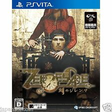 Ero Escape Toki No Dilemma PS Vita Playstation Sony Japanese Japanzon