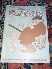 FANTASIO N°53 1er octobre 1908 Old french lampoon paper 1908
