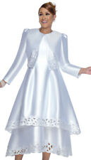 New With Tags Ladies Sunday Dress White Size 18 Dorinda Clark Cole 2802
