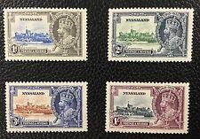 {BJ Stamps} NYASALAND, #47-50, 1935 KGV Silver Jubilee, MH, CV $39.75.
