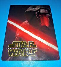 Star Wars Force Awakens Blu-Ray/DVD Steelbook Best Buy Exclusive - No Digital
