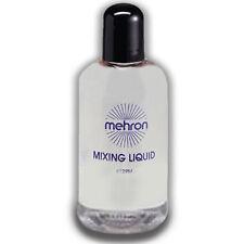 Mixing Liquid - 4.5oz. Mehron FX Adult Makeup Liquid Clear Face Body Unique