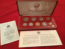 1976 Republic Of Malta Decimal Proof Set with Box