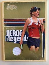 Anna Kournikova 2006 Ace Authentic Heroes & Legends Jersey Relic 166/500