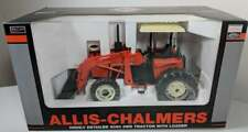 Allis-Chalmers 6090 Tractor and Loader 1/16 High Detail MIB Hard to Find.