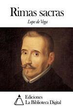 Rimas Sacras by Lope de Vega (2014, Paperback)