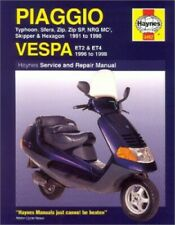 Piaggio (Vespa) Scooters, 1991-98 (Haynes Servic... by Coombs, Matthew Paperback